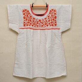 メキシコ手刺繍ブラウス(73)《送料無料》