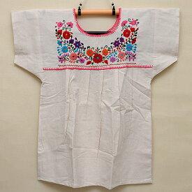 メキシコ手刺繍ブラウス(75)《送料無料》