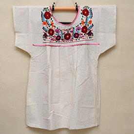メキシコ手刺繍ブラウス(78)《送料無料》