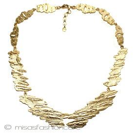 MichaelMichaud (マイケルミショー)  白樺の木  ネックレス ゴールド   MADE IN USA 大人女子 プレゼント 植物モチーフ