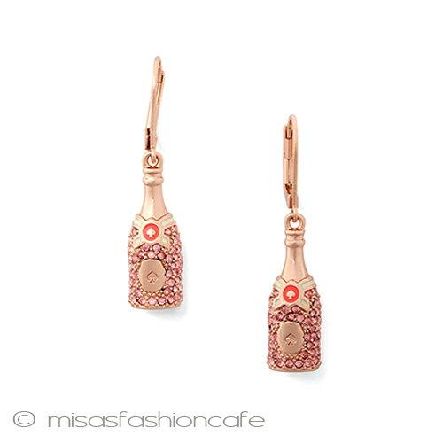 kate spade ケイトスペード ピアス シャンパン モエ  「make magic champagne drop earrings 」揺れるピアス パーティー お呼ばれ 謝恩会 クリスマス プレゼント ギフト