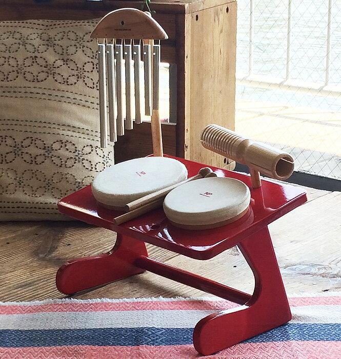 ミニミニドラムセット<WEB限定販売>【ミュージック・フォ・リビング/MUSIC FOR LIVING】【知育玩具・知育楽器・楽器玩具】