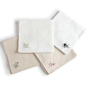 エンブロイダリー(刺繍)ハンカチ