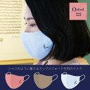 【メール便OK 洗って何回も使える】オックスフォード生地 ト音記号 布マスク 日本製 おしゃれ 綿100% 刺しゅうマスク 大人用 リネン ガ…