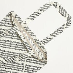 音楽包手提袋ブラック/カーキ/アイネクライネ