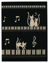 楽譜ファイル ファイル A4 A3 鍵盤 音楽 吹奏楽 合唱 ピアノ 発表会 MUSIC FOR LIVING ナカノ 【ミュージックレッスンファイル ネコと…