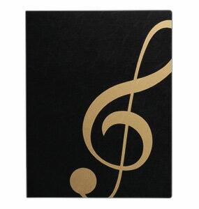 楽譜ファイル/ト音記号ブラックゴールド
