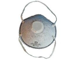 DAC4-OF (排気弁付き) 小箱10枚入り 4層構成 活性炭マスク 高品質 輸出マスク 防塵 解体現場 パテ砥ぎ 粉じん 転売禁止です。