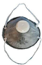 DAC4-F (排気弁付き防塵マスク) 小箱10枚 4層構成 活性炭マスク 高品質 輸出マスク 防塵 解体現場 パテ砥ぎ 粉じん 転売禁止です。