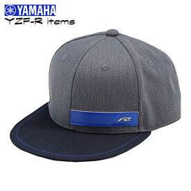 """YAMAHA """"YAC10 YZF-R ストリートキャップ"""" カジュアルに使える「YZF-R」アイテム Rエンブレムが映える、ストリートキャップ《Race Blue Fun items》ヤマハ/ワイズギア"""