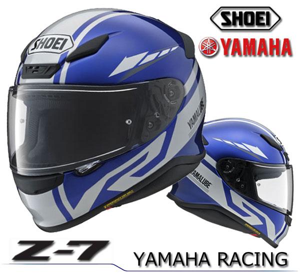 ★送料無料★YAMAHA/SHOEI Z-7 YAMAHA RACING 2017-18 ヤマハレーシング Z-7 フルフェイス ヘルメット