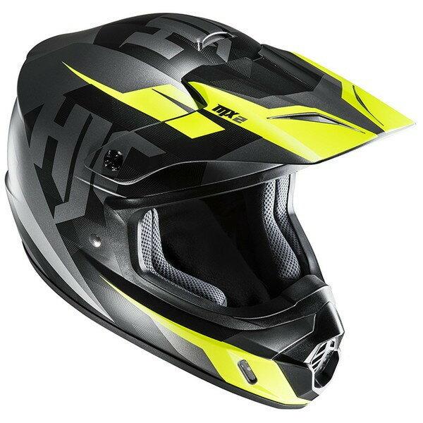★送料無料★HJC CS-MXII ダコタ(ブラック) オフロードヘルメット HJH144