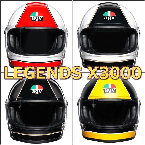 ★送料無料★AGV LEGENDS X3000 フルフェイスヘルメット