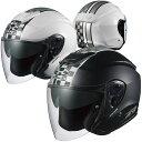★送料無料★OGK ASAGI SPEED (アサギ スピード) ジェットヘルメット インナーサンシェード装備 オープンフェイス