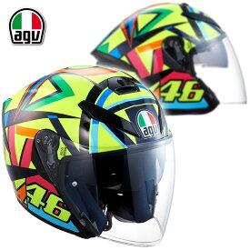 ★送料無料★AGV K-5 JET SOLELUNA 2017 ジェットヘルメット ヴァレンティーノ・ロッシ選手レプリカモデル
