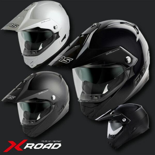 ★送料無料★ WINS X-ROAD ウインズ エックス・ロード インナーバイザー付き デュアルパーパスヘルメット