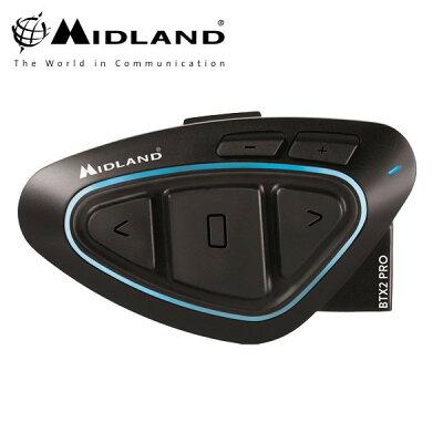 ミッドランドBTX2PROマルチメディアインカムシングルパックMIDLANDC1231.10