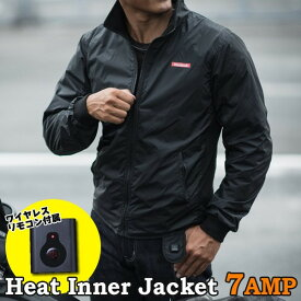 ★送料無料★Heatech/ヒーテック ヒートインナージャケット 5〜7AMP 防寒 電熱インナー