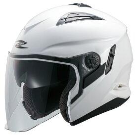 ZEUS NAZ-221 ジェットヘルメット(パールホワイト)