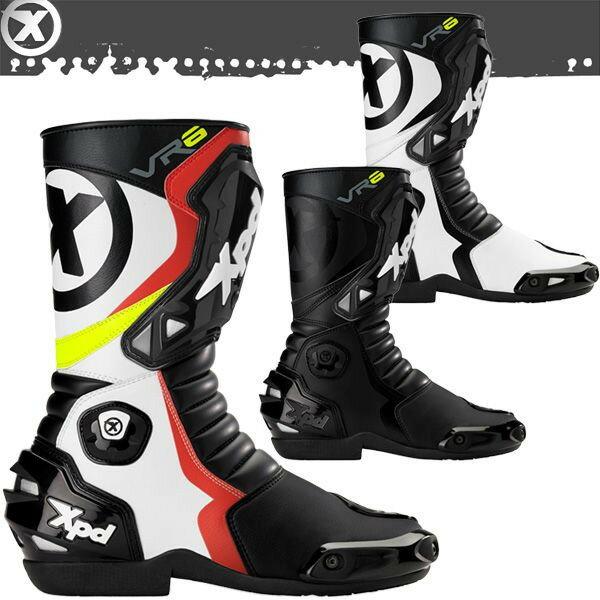 ★送料無料★XPD VR-6 2 レーシングブーツ XPN020 Racing Boots RSタイチ/TAICHI