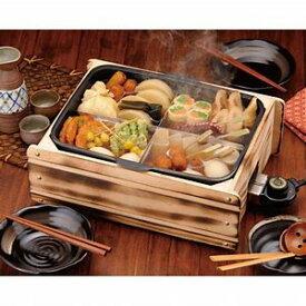 多用途おでん鍋 ふるさとのれん 家庭用 電気式 温度調節可能 0283-015