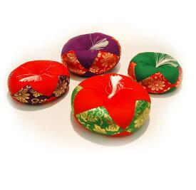 【リン布団】都 サイズ#3.0 (直径約11cm)色は4種類からお選び下さい[仏具 供養]【メモリアルアートの大野屋】