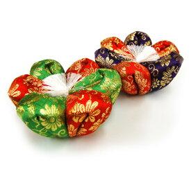 【リン布団】花ふとん サイズ#3 (直径約11cm)色は2種類からお選び下さい[仏具 供養]【メモリアルアートの大野屋】