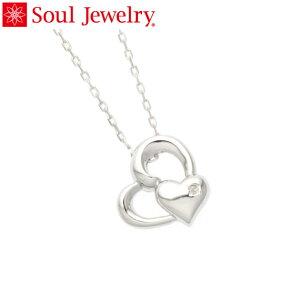 遺骨ペンダント Soul Jewelry ハートI Pt900 プラチナ 『ダイヤモンド』 (予定納期約4週間)