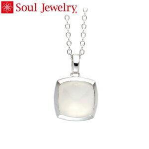 遺骨ペンダント Soul Jewelry ムーンストーン ピラミッド Pt900 プラチナ (予定納期約4週間・代引のご注文は不可)