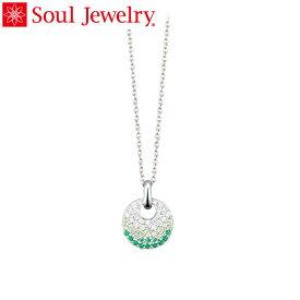 Soul Jewelry パヴェドロップ Made with SWAROVSKI ZIRCONIA シルバー925