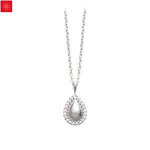 遺骨ペンダント Soul Jewelry エタニティ ドロップ プラチナ900