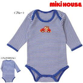 [mikihouse][ミキハウス]ドライブプッチー☆長袖ボディシャツ(70cm・80cm・90cm)
