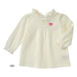 おしゃれな透かし編み♪長袖Tシャツ(100cm・110cm)