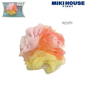 [mikihouse][ミキハウス]【クリアケース付】3色お花のベビー用ヘアクリップ