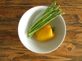 白い食器やわらかフォルムの丸ごとトマトのサラダボウルホワイトレベル3【美濃焼・食器%OFF・訳あり・アウトレット・ボウル】