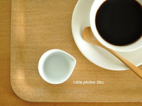 白い食器 ちびピッチャー30cc ホワイトレベル2【美濃焼/食器/訳あり/アウトレット/クリーマー/ピッチャー/ミルク/シロップ/ガムシロップ/カフェ風/cafe風】