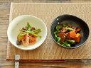 和食器 水玉ドット5.5煮物鉢【美濃焼/食器/訳あり/アウトレット込み/煮物鉢/白/黒/カフェ風/cafe風】