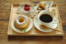 食器 トレー 木製 おしゃれ トレイ お盆 配膳 アウトレット カフェ風 ウッドトレイ(M)