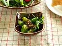 洋食器 洋食屋さんのスクエアーボウル<SS>8.6cm【美濃焼/食器/訳あり/アウトレット込み/通販/器/アメ色/スクエアー…
