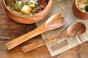 食器 カトラリー スプーン おしゃれ 木製 カフェ風 フィリピン製 アカシアフォーク&スプーンセット