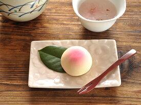和食器sakura菓子皿<かさね桜>【美濃焼/食器/訳あり/通販/器/アウトレット込み/さくら/miyama/ミヤマ/深山/中皿/銘々皿】