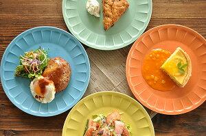 食器 大皿 おしゃれ パスタ皿 モダン 美濃焼 丸皿 アウトレット カフェ風 ラ・クレールしのぎ23.4cmプレート ラクレール