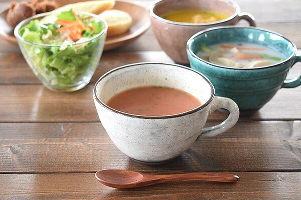 和食器 土物トルコブルー3色スープカップ【美濃焼/食器/訳あり/アウトレット込み/通販/器/スープカップ/カップ/カフェ風/cafe風】