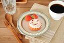 食器 取り皿 おしゃれ 中皿 美濃焼 プレート パン皿 丸皿 花 アウトレット カフェ風 ポットマム16.0cmパン皿