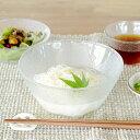 食器 大鉢 おしゃれ 日本製 ボウル 素麺鉢 サラダボウル カフェ風 ガラス 流雅素麺鉢(P-6384)