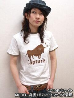 Tシャツ半袖プリントCaptureネコポスOK♪【HN/SS】ネット限定メッセージTシャツメンズレディースデザインXSSMLXLサイズ