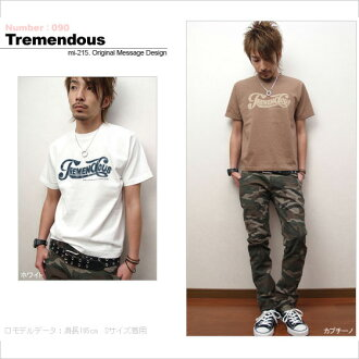 ★ ♪ TREMENDOUS mi-215. ne-sorted limited edition T shirt 10P13oct13_b
