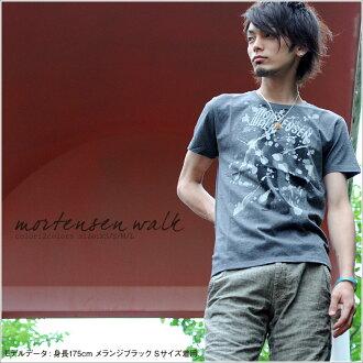 T shirt short sleeve MORTENSEN WALK ♪ mi-215. ne-sorted limited edition T shirt XS S M L XL 10P30Nov13