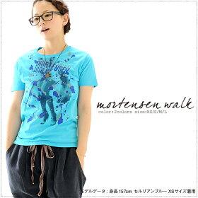 【倉敷児島発】MORTENSENWALKmi-215.ネット限定Tシャツ