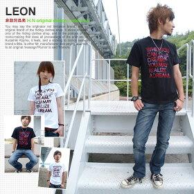 LEON/ネット限定オリジナルメッセージTシャツ
